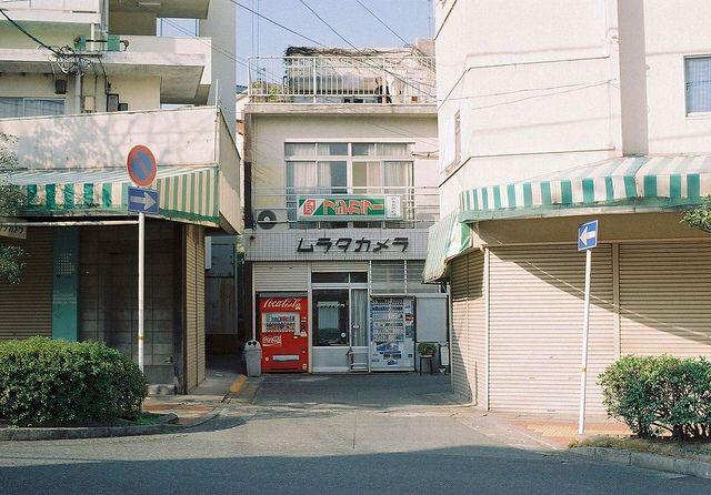 I'm a sucker for Japanese neighbourhoods.