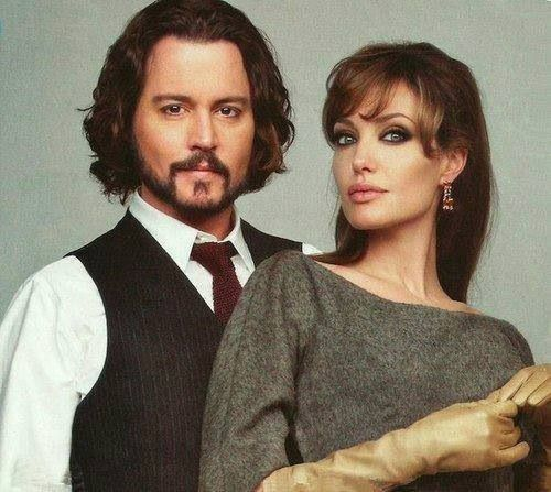 The Tourist - Johnny Depp and Angelina Jolie
