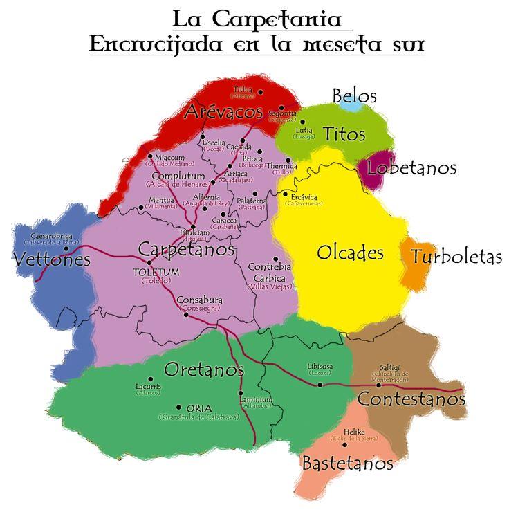 carpetanos y tribus vecinas