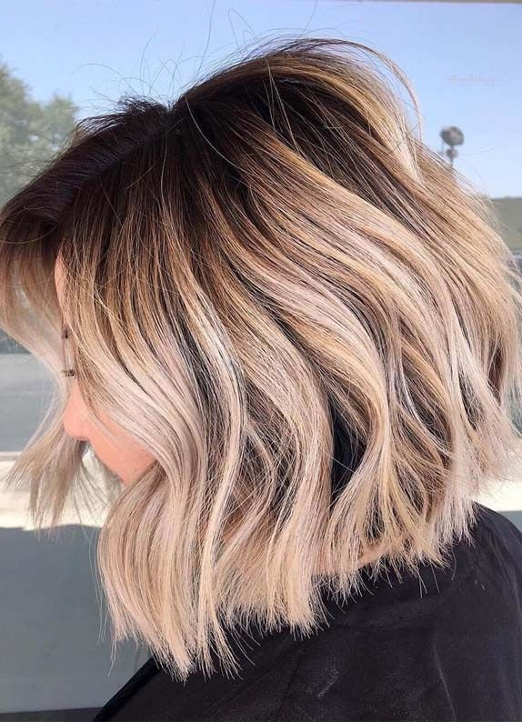 Perfect Bob Haircuts With Shadow Roots In Year 2019 Roots Hair Shadow Roots Hair Hair Styles
