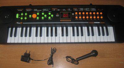 Пианино. Орган-Синтезатор детский. Новый. С микрофоном. Дешево.