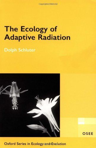 The Ecology of Adaptive Radiation (Oxford Series in Ecology & Evolution) by Dolph Schluter. Save 13 Off!. $56.75. Publication: December 7, 2000. Publisher: Oxford University Press, USA; 1 edition (December 7, 2000). Author: Dolph Schluter. Edition - 1