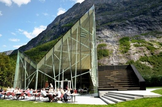 Architect: Reiulf Ramstad Arkitekter (RRA) Location: Trollveggen, Møre og Romsdal, Norway Project Area: 700 sqm Project Year: 2011 Photographs: