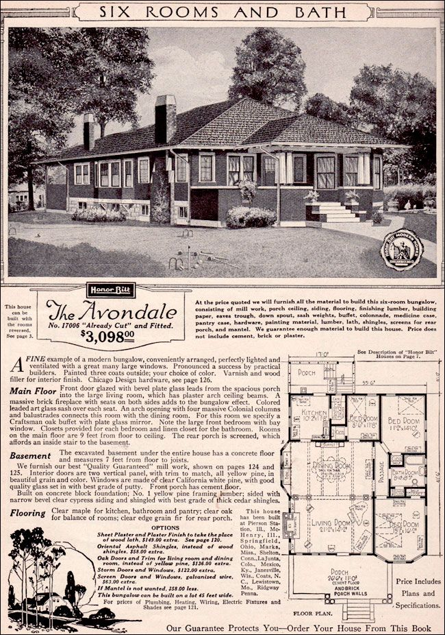 CURB APPEAL   another great example of beautiful design  1923 Sears Modern  Homes   Avondale. 22 best SEARS HOMES images on Pinterest