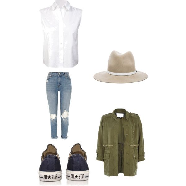 SIMPLE by carlifornia101 on Polyvore featuring T By Alexander Wang, River Island, Converse and rag & bone