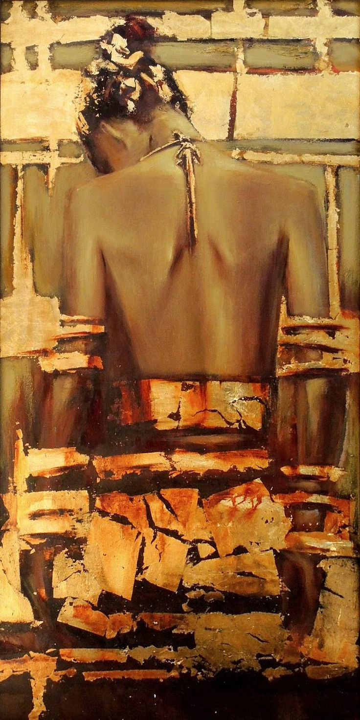 """Saatchi Art Исполнитель Лиза Yashyna;  Картина, """"Оригинальная картина маслом Каменный цветок"""" #art  2950$"""
