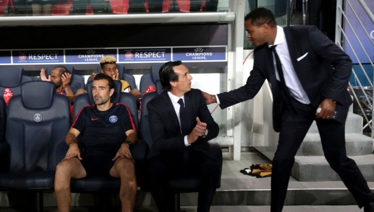 Unai Emery dément être à l'origine du départ de Patrick Kluivert ! - http://www.le-onze-parisien.fr/unai-emery-dement-etre-a-lorigine-du-depart-de-patrick-kluivert/