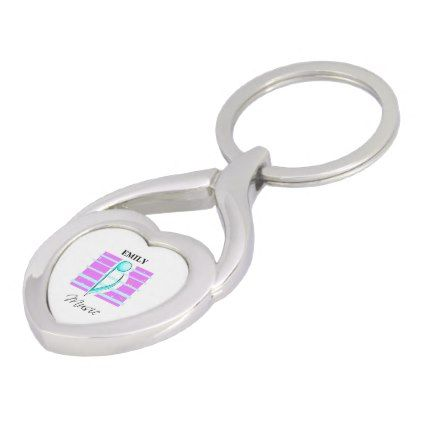 Congratulations Note Musical Performance Keychain - pink gifts style ideas cyo unique
