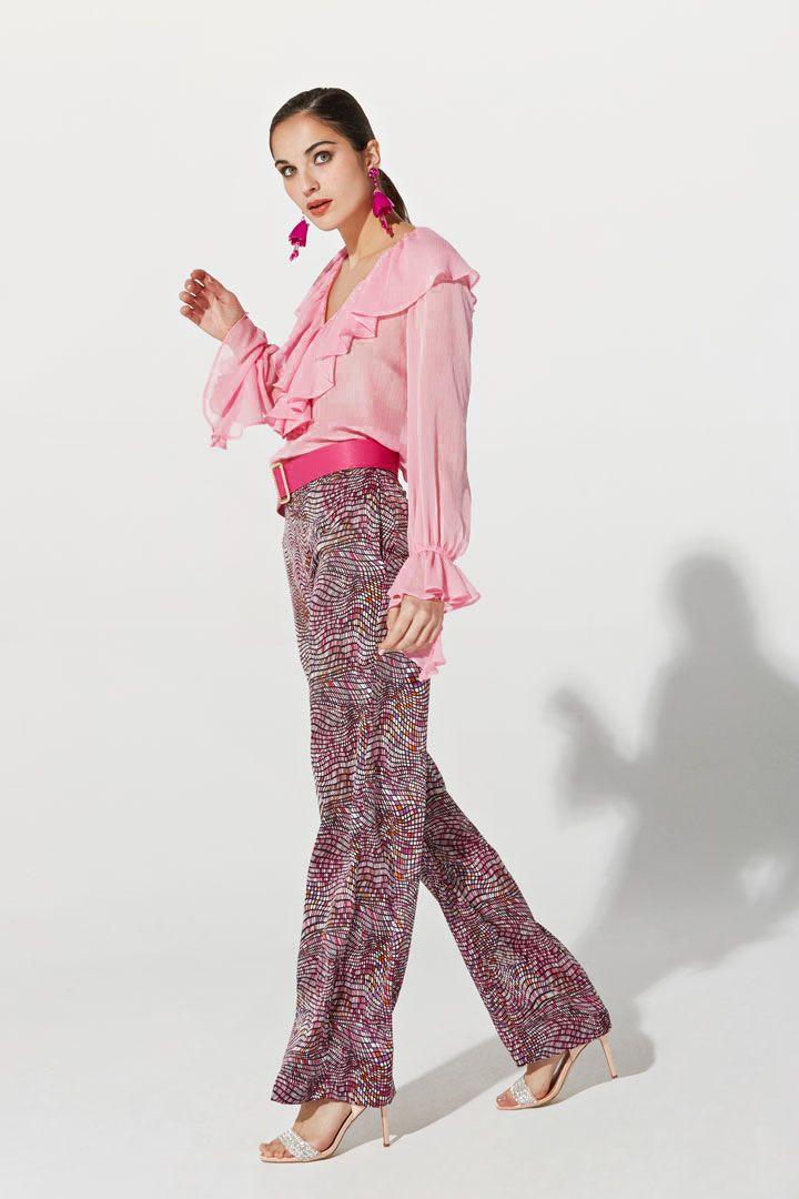 a0e2e7b25 Pantalón de la Colección Primavera Verano 2019 de TERIA YABAR de ...