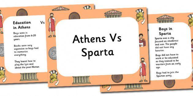 sparta vs athens powerpoint and worksheet athens sparta james pinterest student. Black Bedroom Furniture Sets. Home Design Ideas