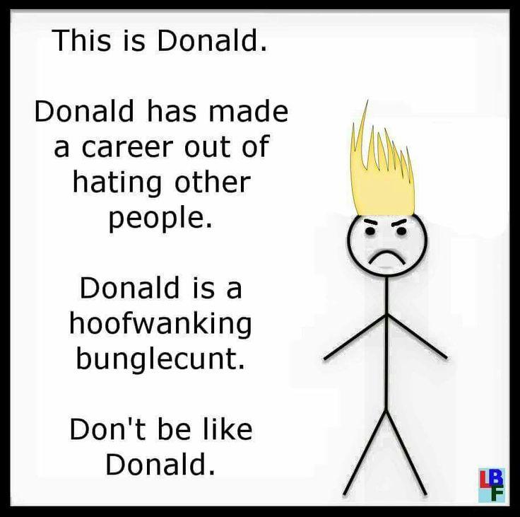 Donald Thrump.