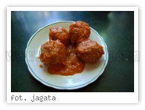 Przepis - Klopsiki w sosie pomidorowym