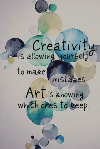 Creativity versus Art