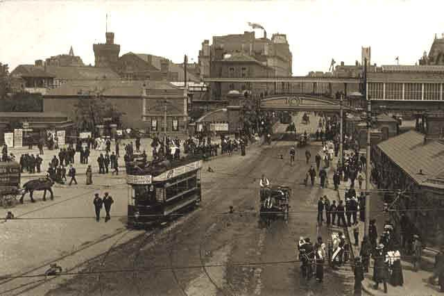 Commercial Road, Old Portsmouth, c1917