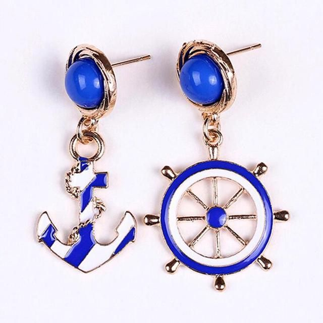 Only a few more left in stock! Hot Selling European American Personality Style Anchor Earrings Women Shop now:  http://emily-brooks-jewelry.myshopify.com/products/hot-selling-european-and-american-fashion-personality-style-anchor-earrings-for-women