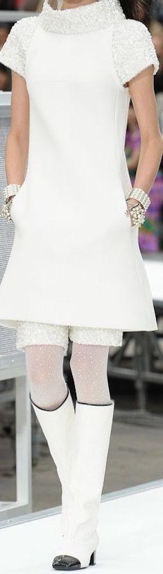 Chanel Fall 2017 RTW. Solo La parte de arriba