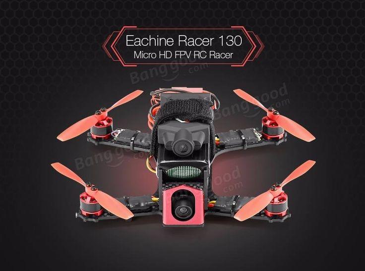Eachine Racer 130 Naze32 FPV Racer ARF with 720P HD ActionCam 700TVL Camera(20% off coupon code:130ARF)