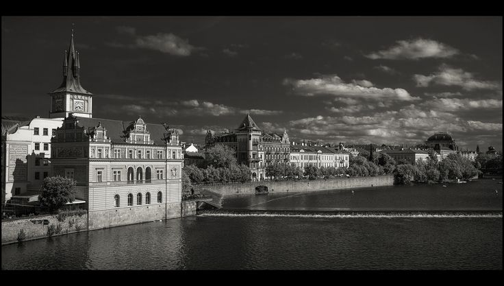 Prague bw by Václav Verner on 500px
