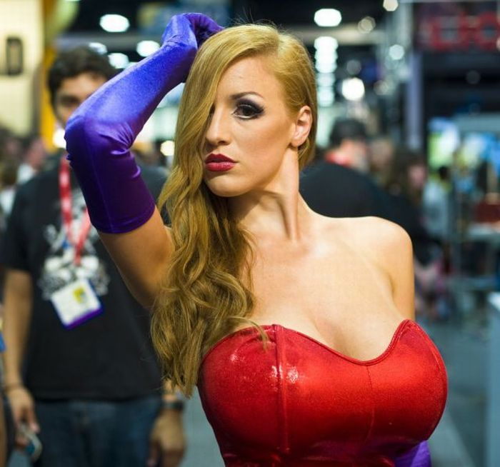 Jessica Rabit au Comic Con