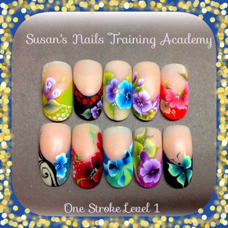703 best nails are a work of art images on pinterest nail one stroke level 1 prinsesfo Image collections