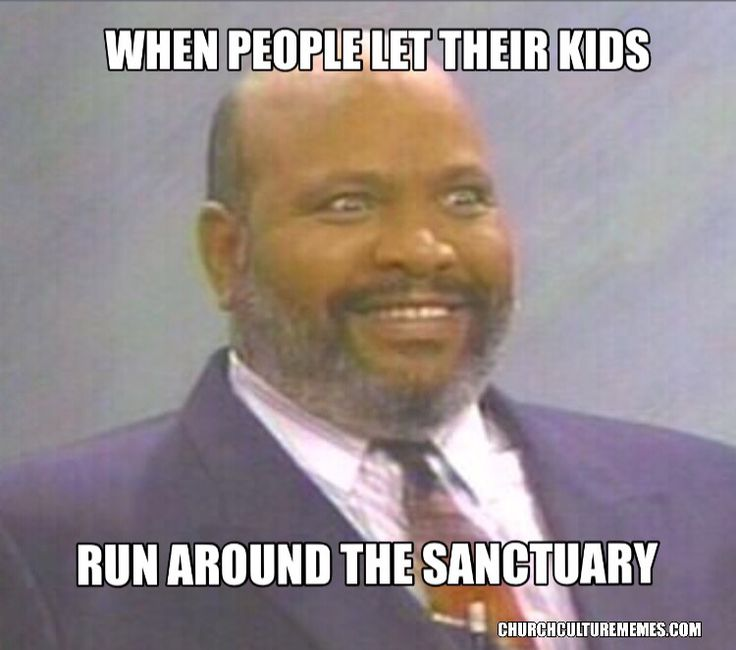 Kids running around in church meme  #christian #memes #kids