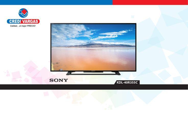 Disfruta de la mejor calidad de imagen con el televisor LED KDL-40R355C de Sony. TV de 40 pulgadas con pantalla LED, resolución Full HD y USB Play.