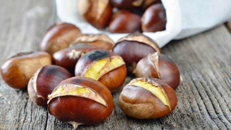 Taste and feel the atmosphere of the Greek winter in Chania! #chestnut