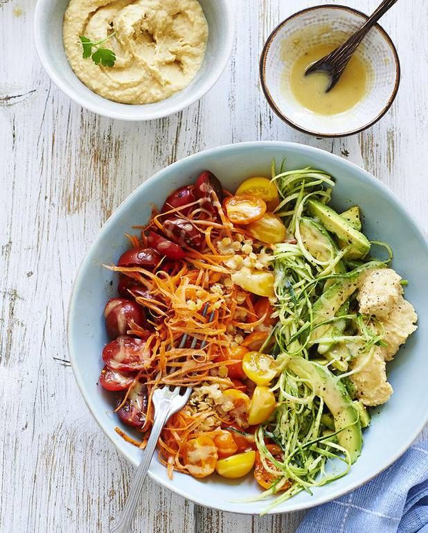 Salade arc-en-ciel de légumes pour 2 personnes - Recettes Elle à Table