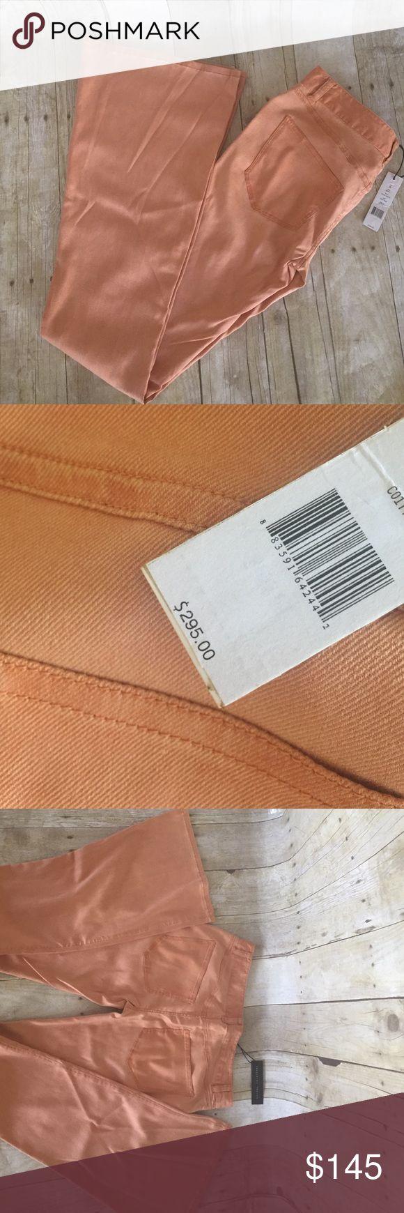 THEORY pantana peach jeans NWT size 26 THEORY peach boho chic flare NWT size 26 jeans.  Very thin. Inseam 34 Theysken's Theory Jeans Flare & Wide Leg