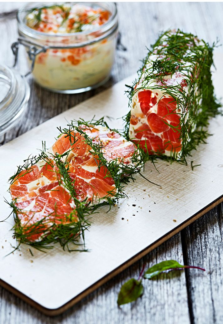 Salmon Log with Dill