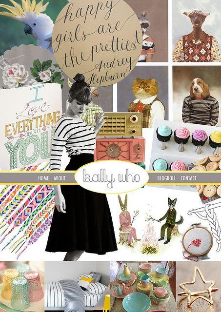 Bally-Who Blog Mood Board by meg@ bally-who.com #blogboss