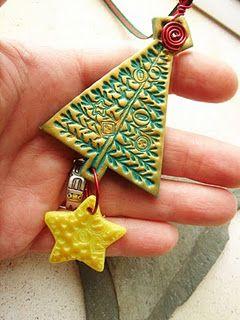 Polymer Clay or Salt Clay ornament