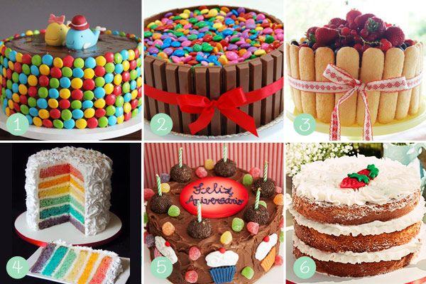 Ideias Simples para decorar Bolos de Aniversário - http://coisasdamaria.com/ideias-simples-para-decorar-bolos-de-aniversario/