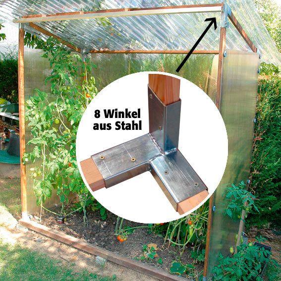 Die 25+ Besten Ideen Zu Gewächshaus Bauen Auf Pinterest | Selber ... Gewachshaus Fur Den Garten 12 Selbst Gebaute Gestaltungsideen