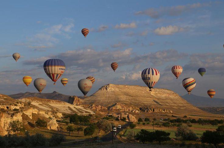 Cappadocia morning by Gen Ford