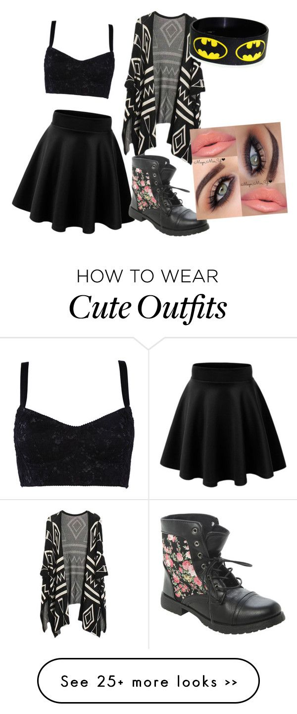 """""""Cute Date Outfit"""" by corajeffery on Polyvore"""
