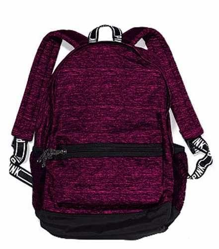 Mochila Backpack Victorias Secret Bordo