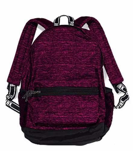 Mochila Backpack Victorias Secret Bordo