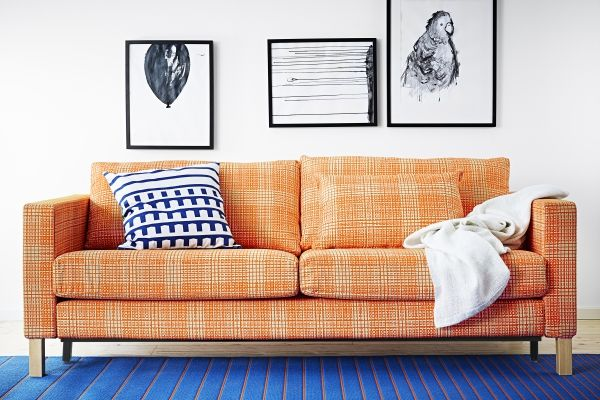 Color Trick The New Karlstad Orange Sofa Cover Is Here