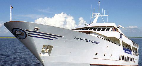 """Captain Matthew Flinders"" is the definition of onboard luxury! It is the largest & grandest of all ships in Toronto."