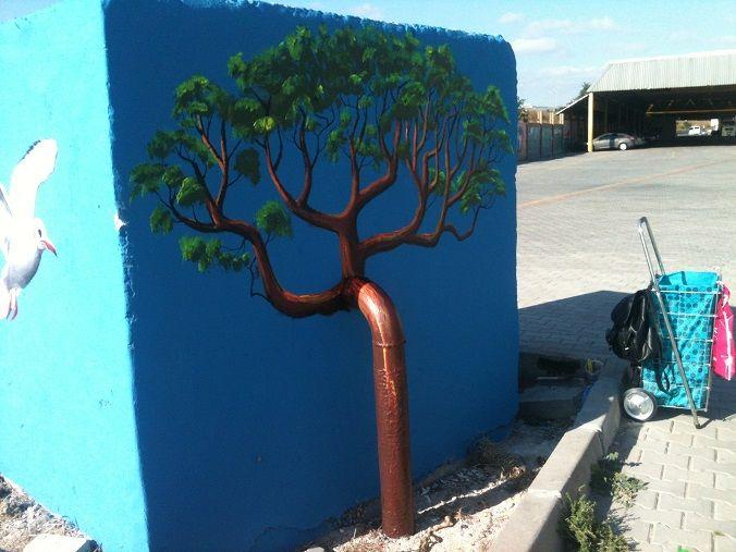 Salı Pazarı Duvarı-Ağaç/Sait Işık