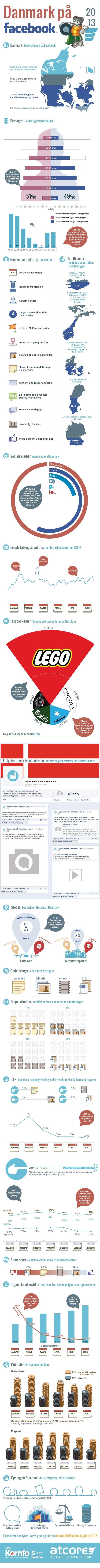 Danmark på Facebook 2013