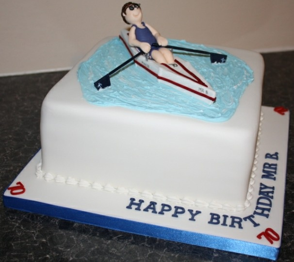 Rowing Boat Cake