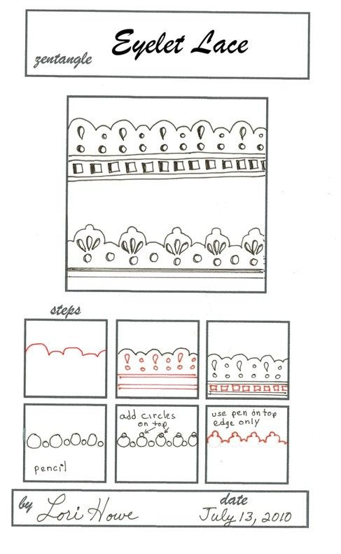 17 Best Images About Zentangle Borders On Pinterest