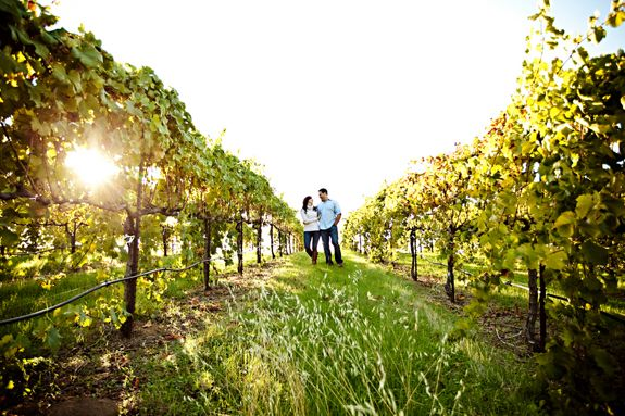 Winery Engagement Shoot - Jacqueline Photography