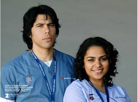 Shortland Street - Kiel McNaughton and Nisha Madhan