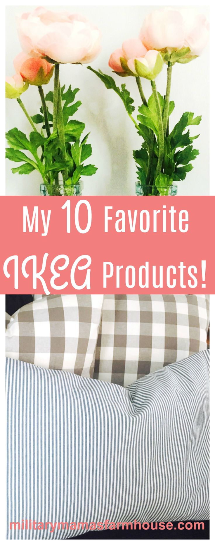 IKEA is known for fantastic products at very reasonable prices. As a huge lover of IKEA, I compiled my 10 Favorite IKEA Products, all of which are under $50!