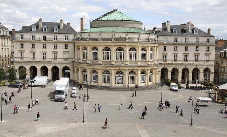 Place de la Mairie. Rennes