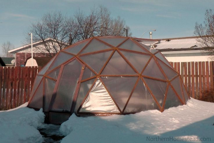Covering the GeoDome Greenhouse