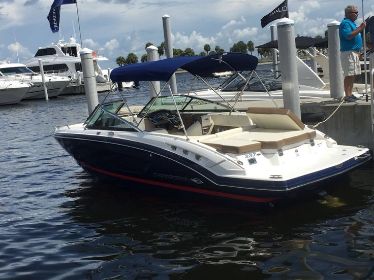 All new 2016 chaparral 227 ssx luxury bow rider